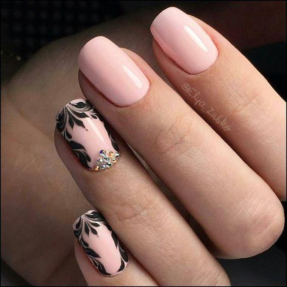 Маникюр-2018: модные тенденции для коротких ногтей