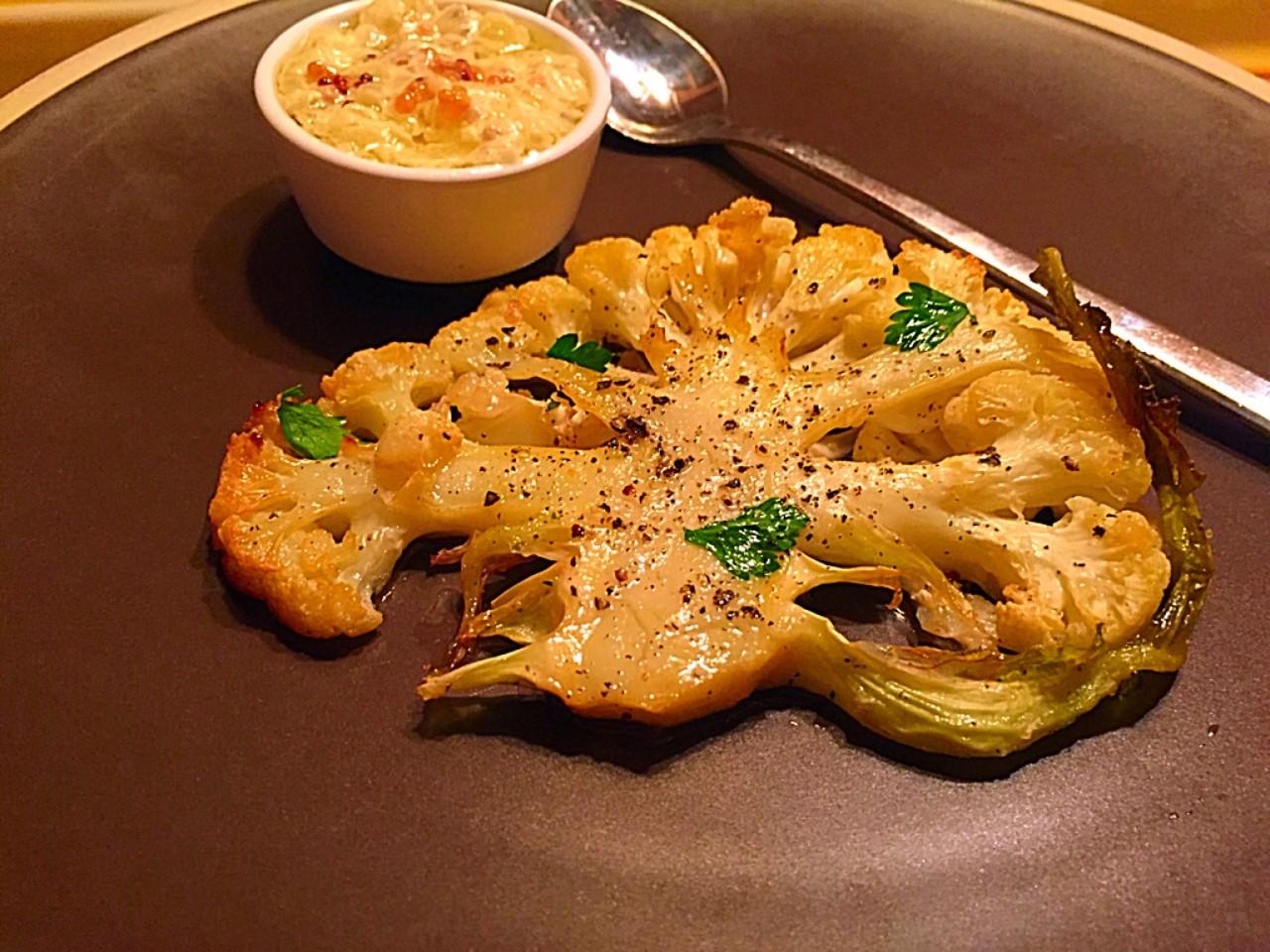 Цветная капуста с дижонским соусом