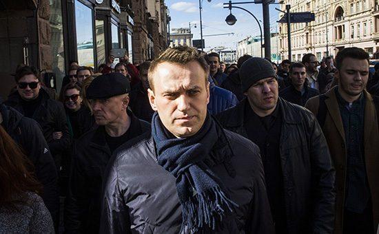 Навальный арестован на 30 су…