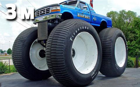 Самые большие колеса на планете - наш рейтинг