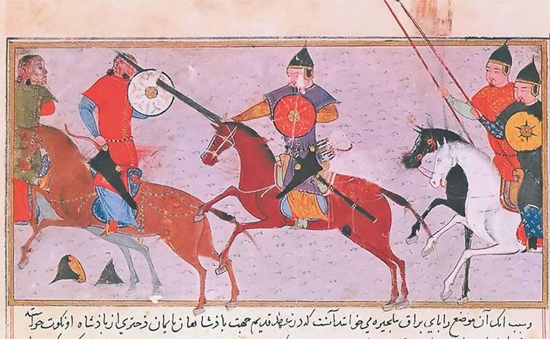 Оружие и доспехи воинов-монголов (часть вторая)