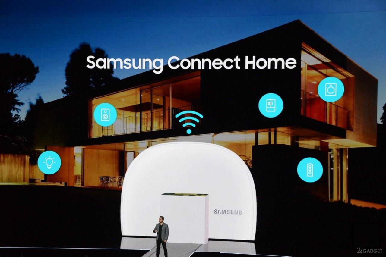 Универсальный Connect Home объединяет управление «Интернетом вещей» и Wi-Fi