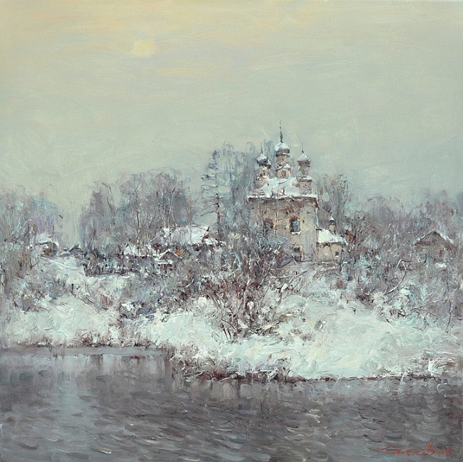 Выпал снег (654x653, 430Kb)