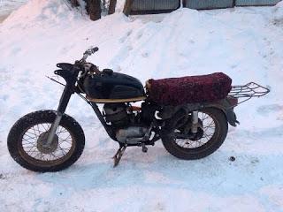 Реставрация у-ретро мотоцикла Восход-Ковровец