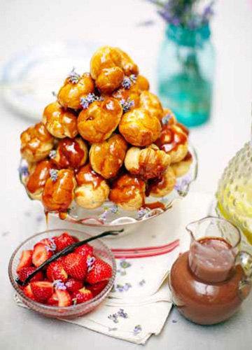 Пасхальные рецепты. Заварные пирожные с кремом
