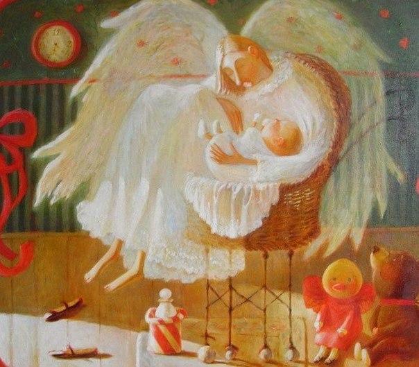 Ангел и человек. притча