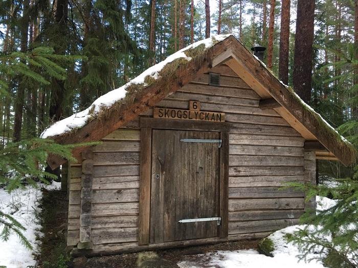 Первобытная романтика шведского эко-отеля