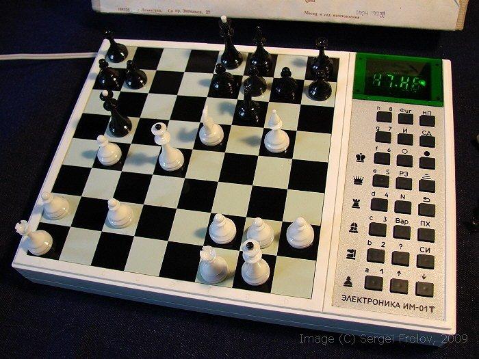 Советские шахматные компьютеры история, компьютер, шахматы
