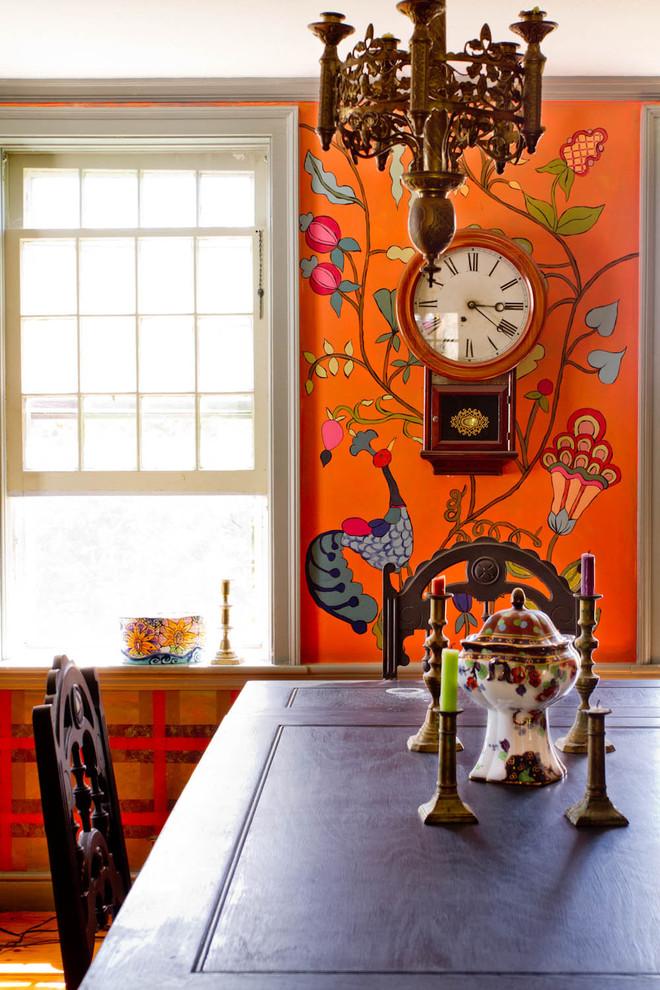 Живописные узоры в стиле Фолк в интерьере