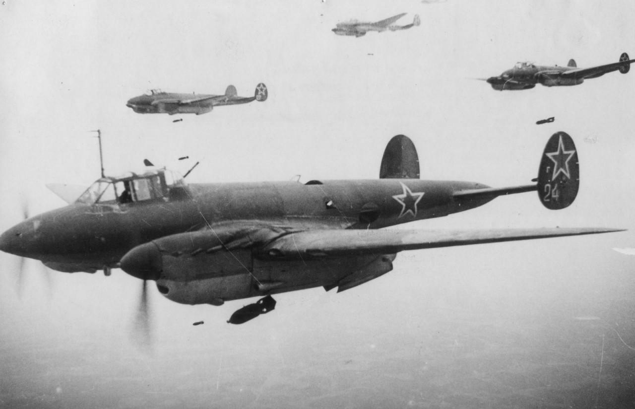 Последний бой Пе-2 №25