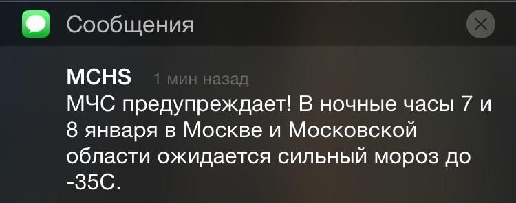 Как Москва пережила морозы)