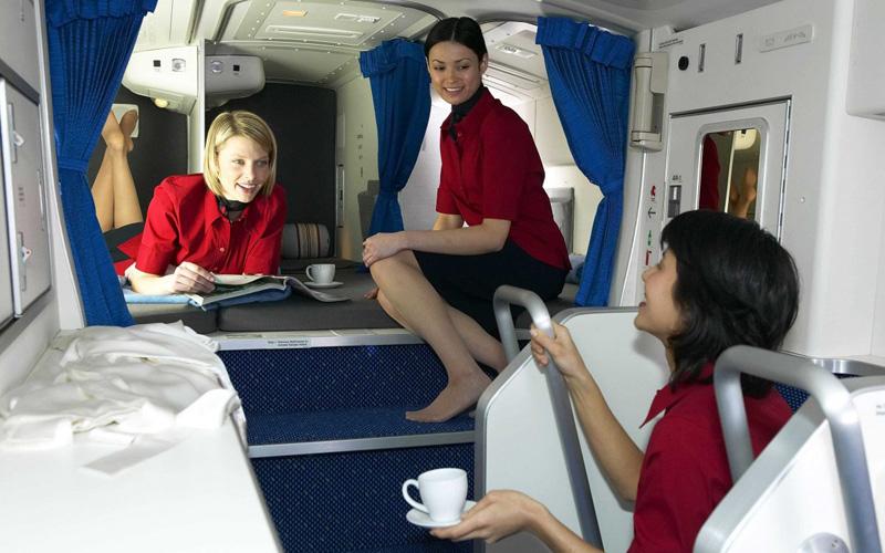 Как устроена тайная комната экипажей самолетов
