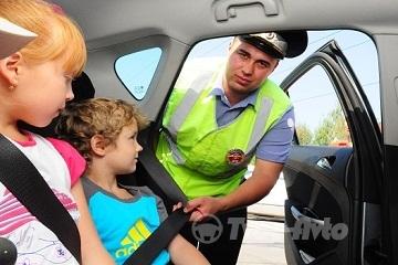 России изменятся правила перевозки детей в автомобилях и штрафы