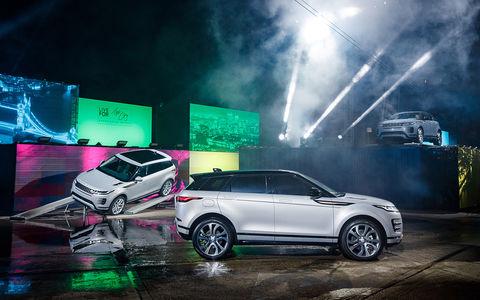 Новый Range Rover Evoque: от предшественника только дверные петли