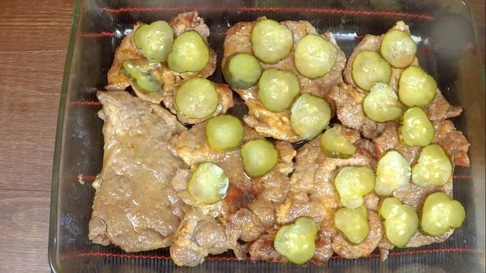 Отбивное мясо в соусе под пюре С дедом за обедом, Вкусно, Видео, Длиннопост, Отбивная, Пюре, Рецепт