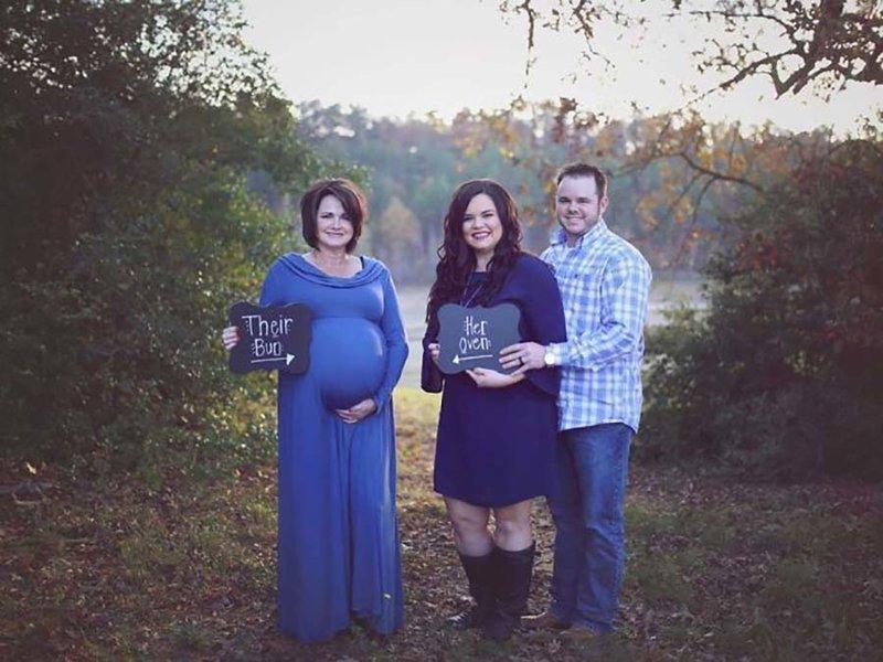 В этой невероятно красивой истории женщина выносила ребёнка своего сына беременность, в мире, дети, история, люди, роды