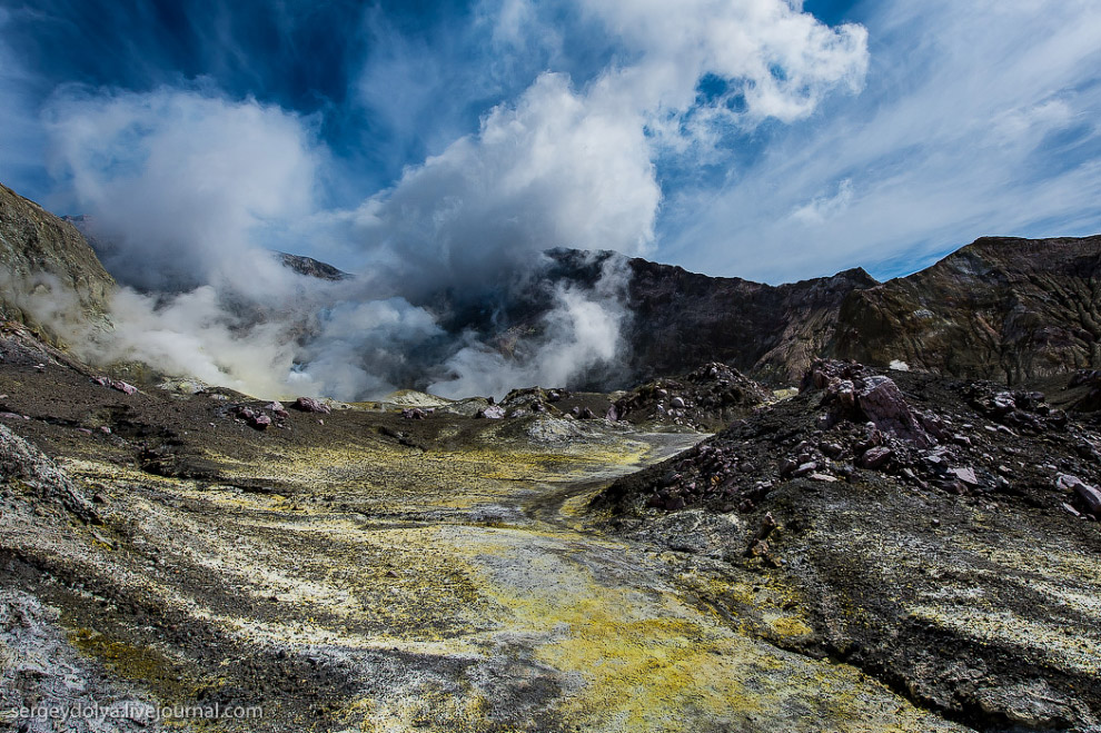 Путешествие на частный вулкан посреди океана