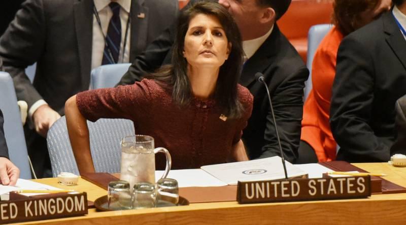 Никки Хейли: Вашингтон вновь готов нанести удар по Дамаску