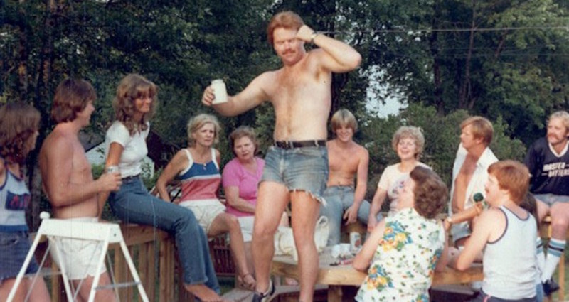 Много голых семей фото