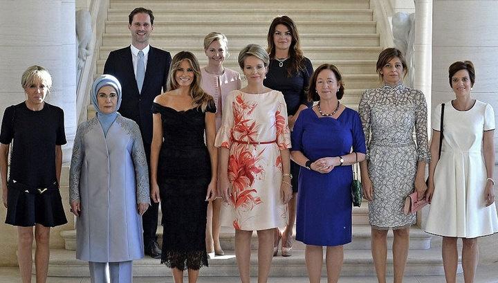 Фотосессия жен НАТО: 9 женщин и супруг гей-премьера Люксембурга