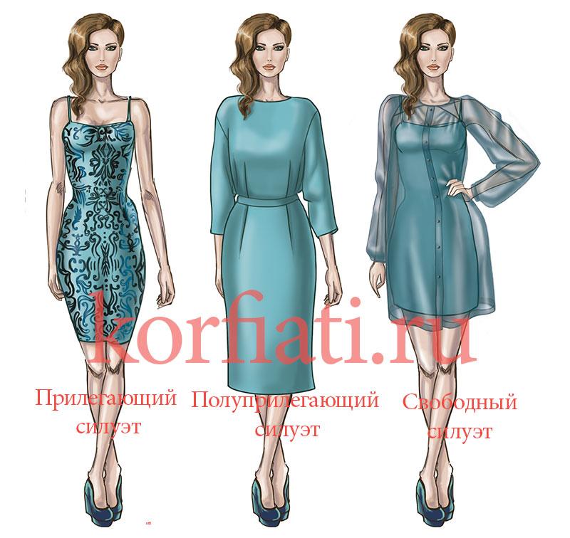 про голубое платье стихи