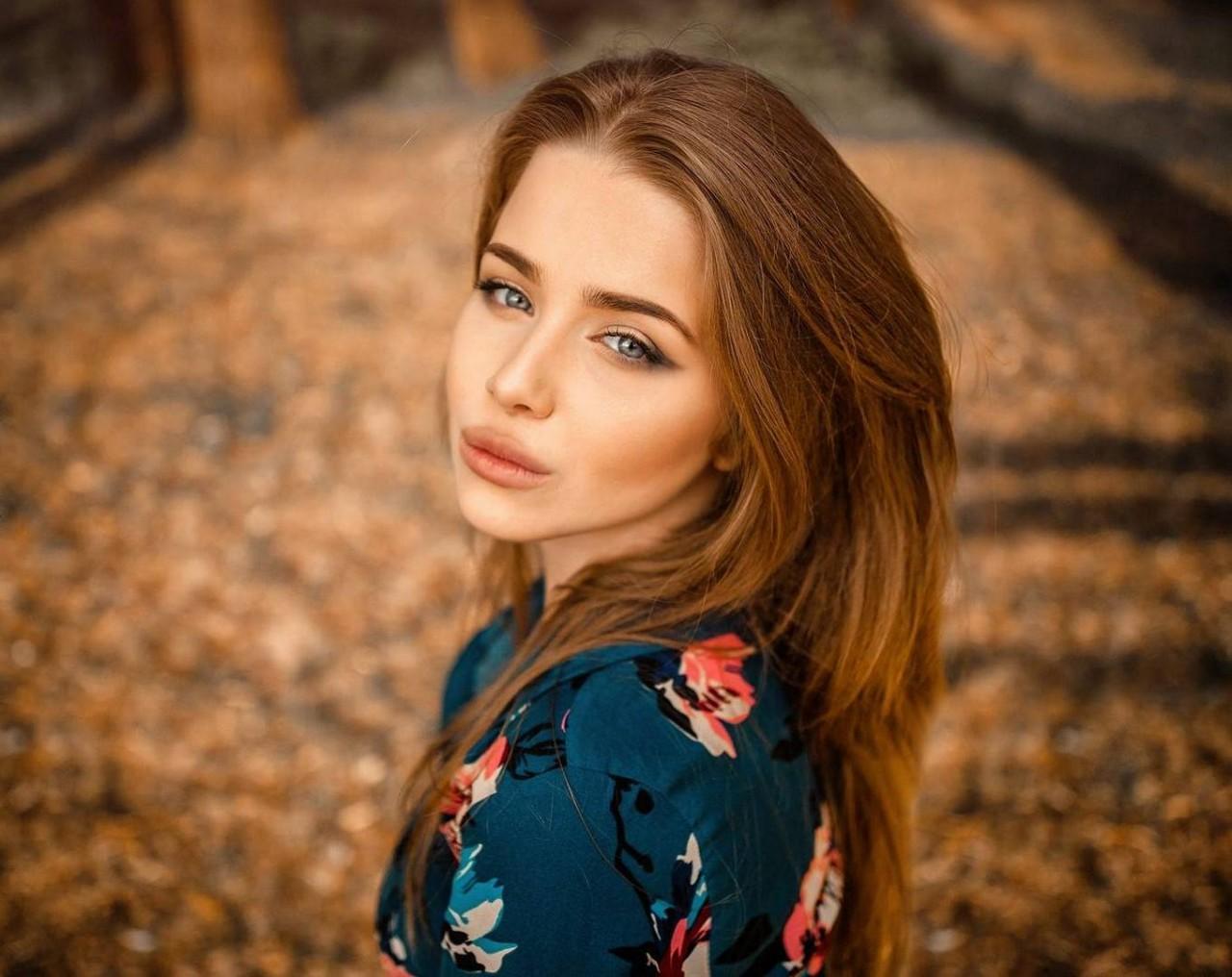 Фото красивых девушек портретное фото