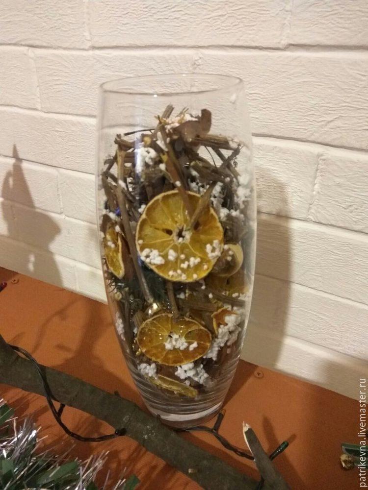 Арома-ваза для новогодней ночи