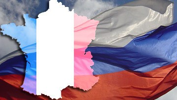 Франция меж двух пророссийских огней