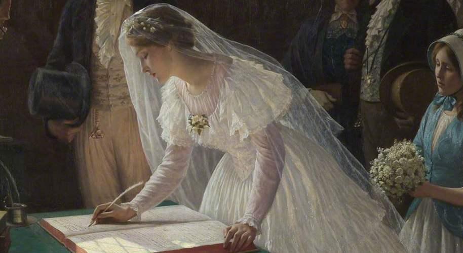 Жених костюм купил, кольца з…