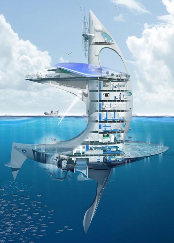 Плавающий небоскреб «Sea Orbiter»