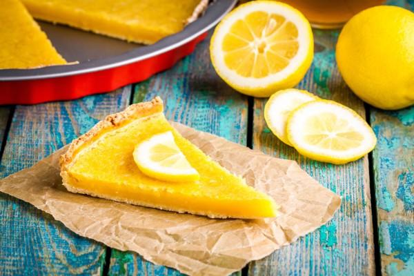 Простой лимонный тарт