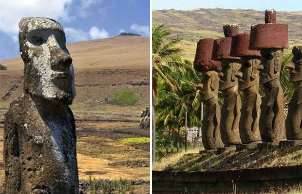 Учёные выяснили тайну каменных статуй на острове Пасхи