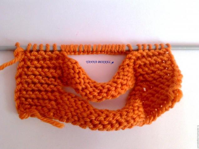 повязка на голову косами схема вязания