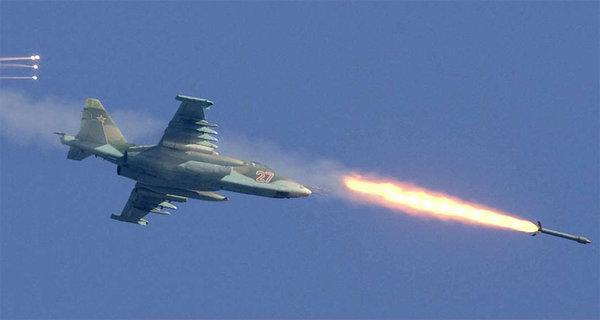 Российская авиация начала зачистку проамериканских боевиков в пригороде Дамаска