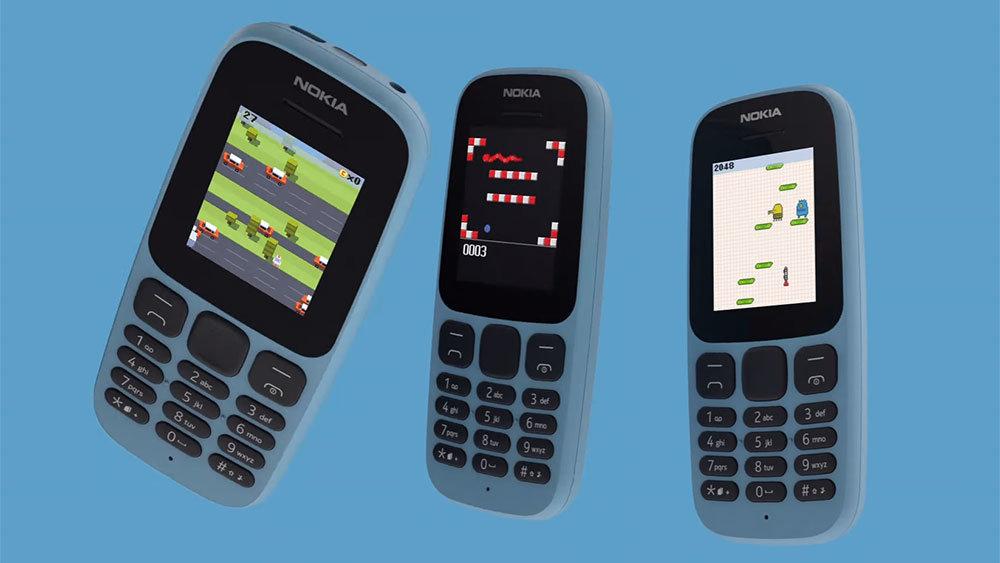 Nokia выпустила телефоны-долгожители за 900 рублей