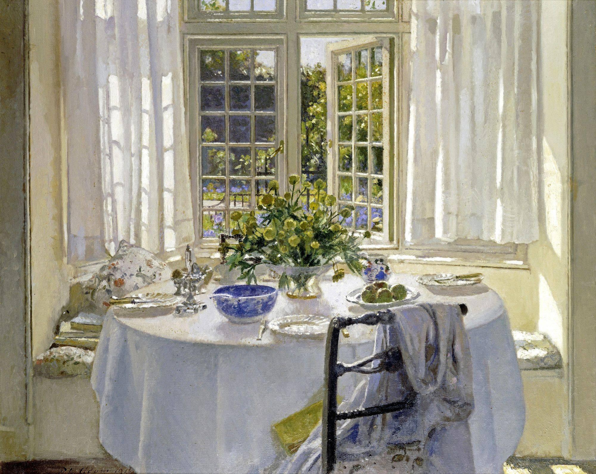 «Как хорошо проснуться утром дома…» Шотландский художник Patrick William Adam (1854-1929)