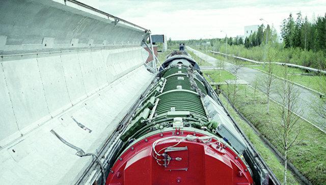 """Летные испытания ракеты российского """"ядерного поезда"""" намечены на 2019 год"""