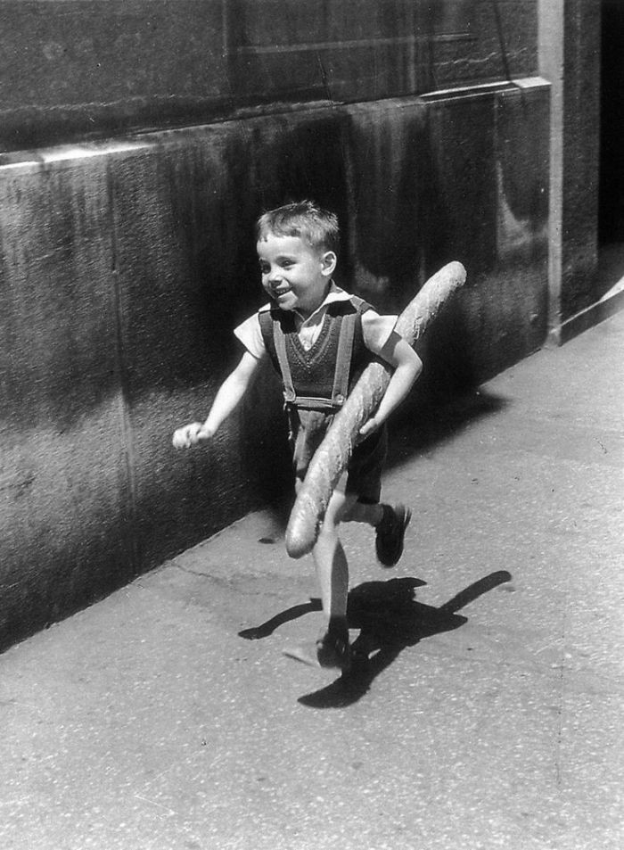 40. Маленький парижанин, 1952 год  детство, прошлое, фотография