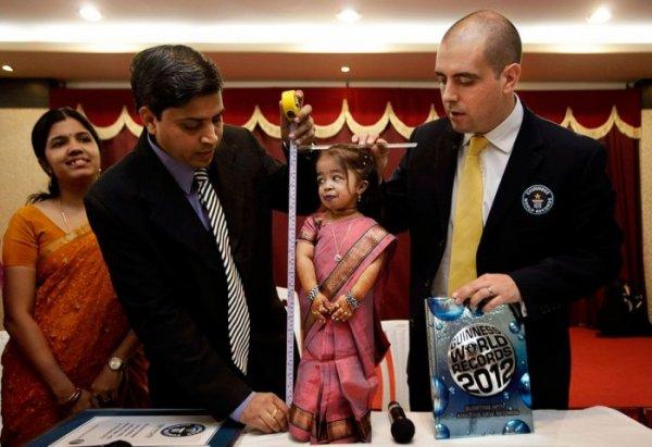 Джиоти Амге - самая маленькая в мире женщина