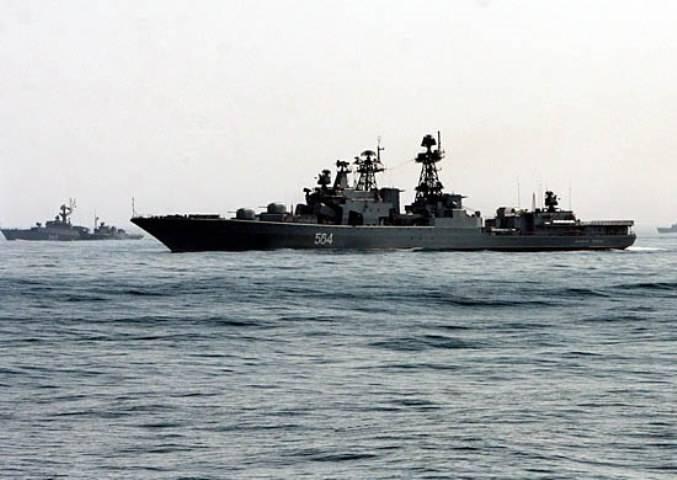 Корабли ТОФ выполнили в море…