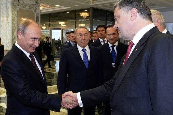 Порошенко заявил, что не боится Путина