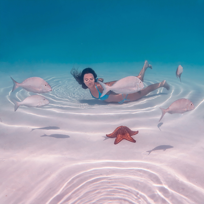 Сказочные фотографии с Багамских островов.