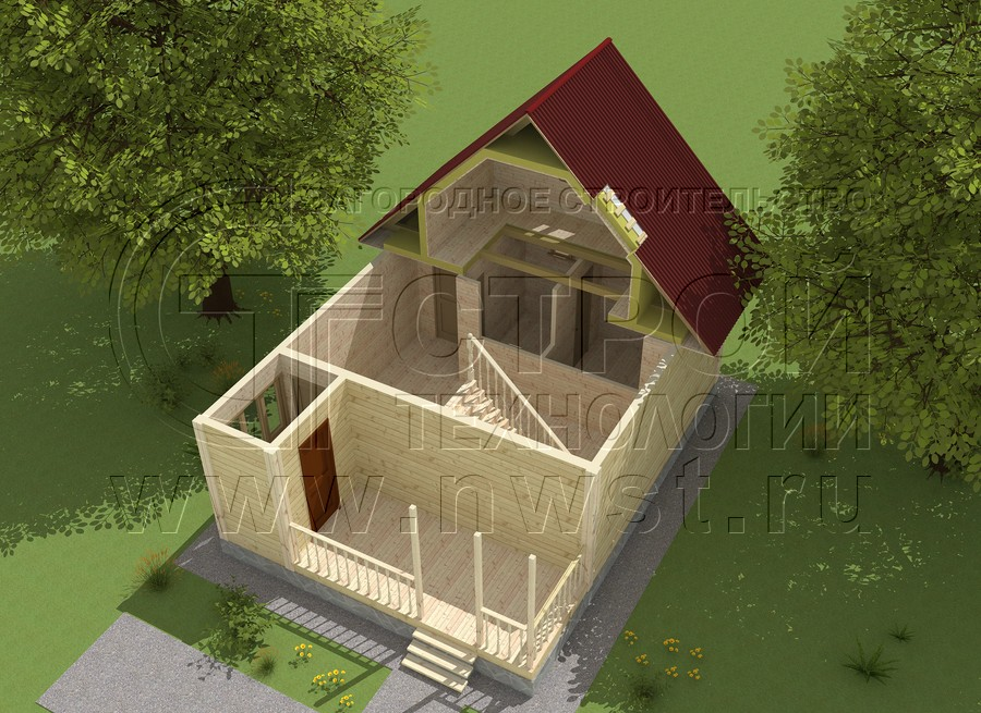 Проект дома 15 - СтройТехнологии