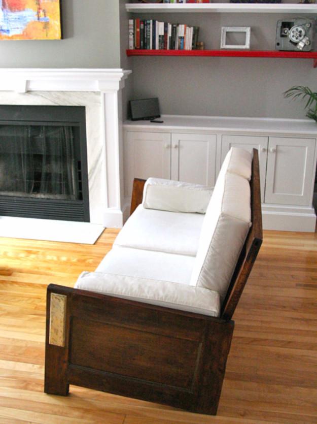 Удивительно, но своими руками легко сделать диван двери, полезные советы, своими руками, сделай сам, фото