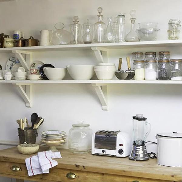 Полки навесные для кухни своими руками