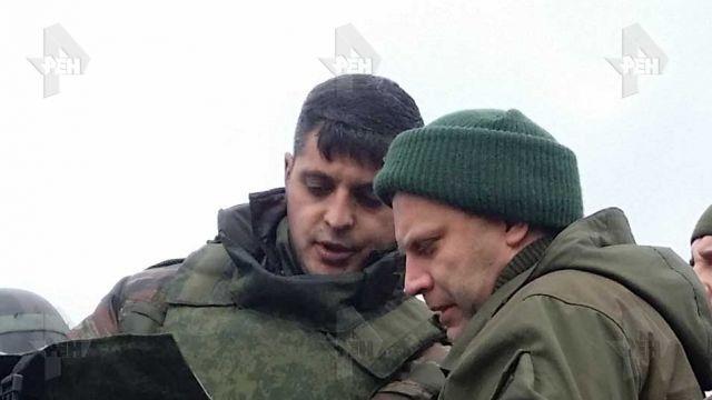 Гиви наступает из Приднестровья