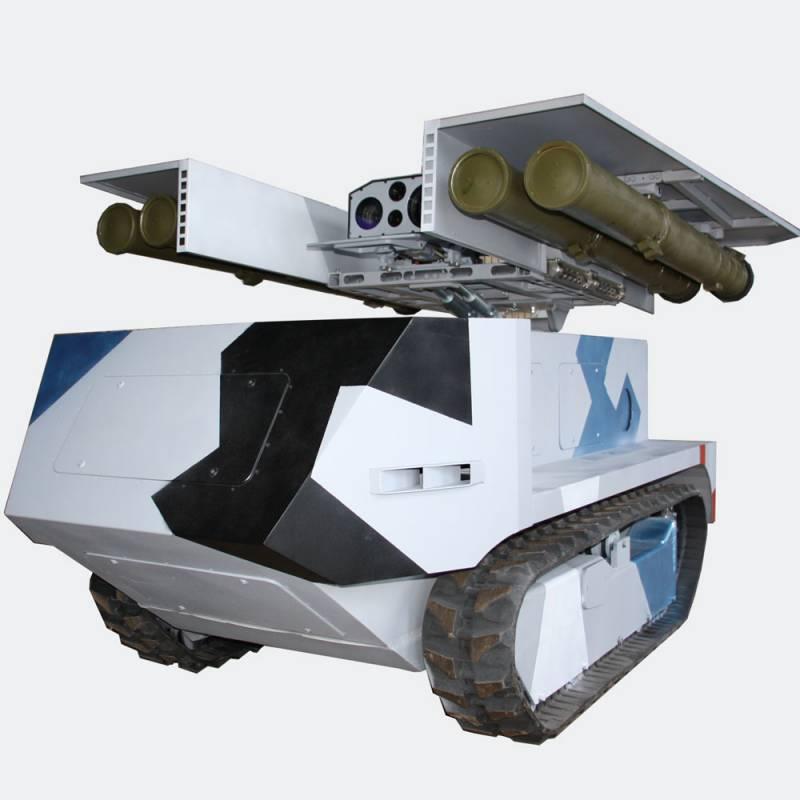 Роботизированный противотанковый комплекс «Богомол»