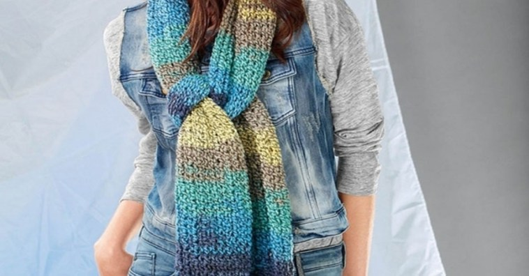 Три очаровательных шарфика, вязанных своими руками