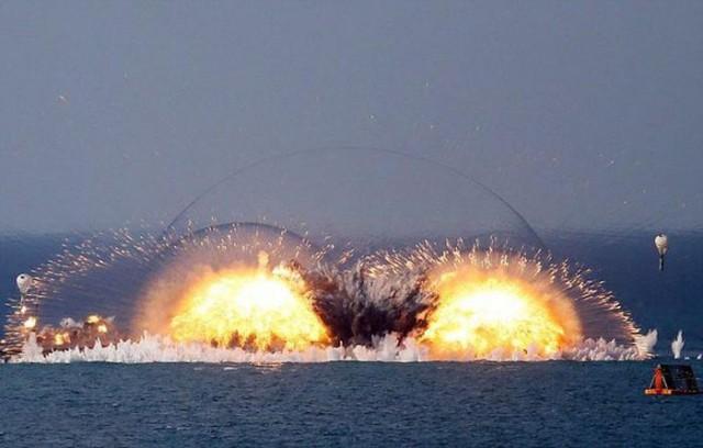 Завораживающая смертельная красота - взрывы термобарических бомб