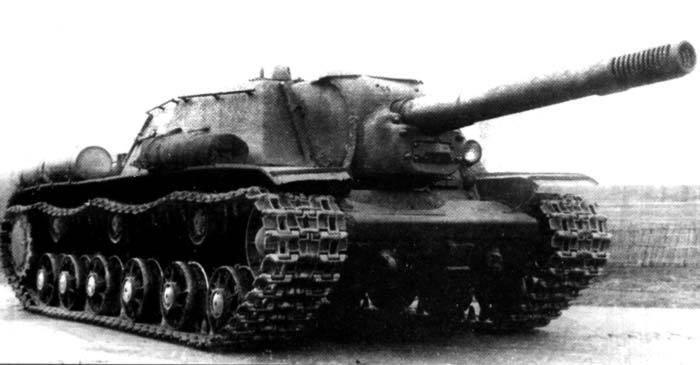 Попадания от чудовищной пушки СУ-152